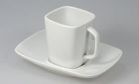 Taza café c/ plato cuadrado 2255/21