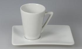 Taza café cónica c/ plato 2365/21