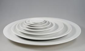 Colección de platos redondos