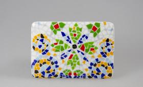 Placa rectangular c/s imán 2966/32G