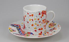 Taza café 5cl. con plato 9/32GR