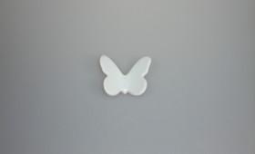 Mariposa porc. c/s imán 3062/21